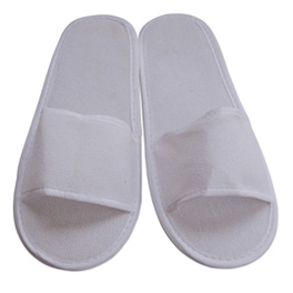 Open Toe Terry Cloth Spa Slippers white.jpg
