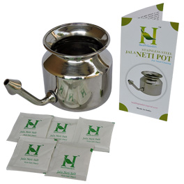 Stainless Steel Neti Pot for benefit of Ayurveda.jpg